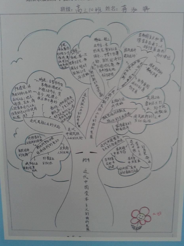 把 思维图 种植学生心间,让 知识树 绿遍东辰校园